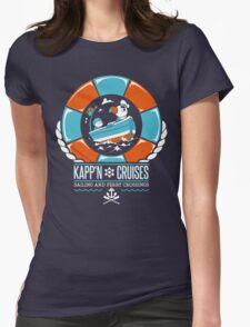 Kapp'n Cruises Womens Fitted T-Shirt