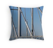 Steel  Throw Pillow