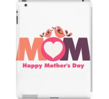 MoM Mother's Day iPad Case/Skin