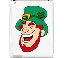 Leprechaun Laughing iPad Case/Skin