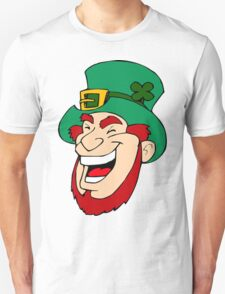 Leprechaun Laughing T-Shirt