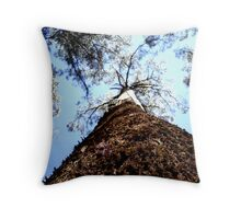 Dandenong Tree Throw Pillow