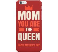 Mother's Day Queen iPhone Case/Skin