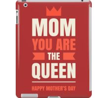 Mother's Day Queen iPad Case/Skin