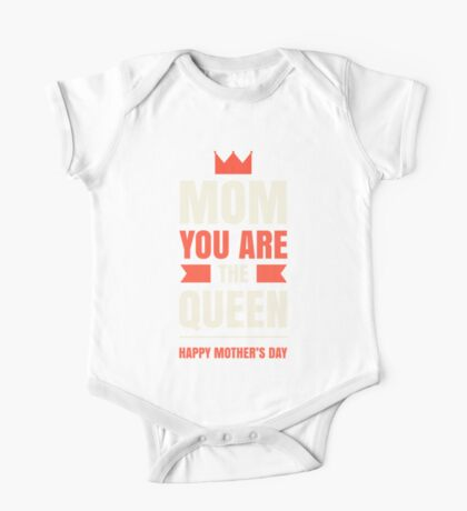 Mother's Day Queen One Piece - Short Sleeve