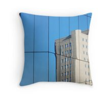 Glass Building Throw Pillow