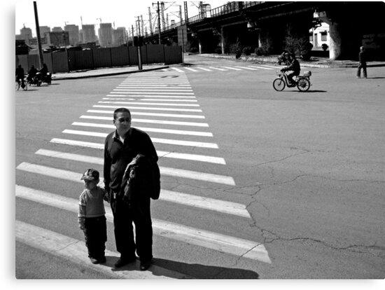 Crossing the Road by Dan Algina