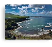 South west kerry scenic of Ireland landcape Canvas Print