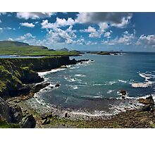 South west kerry scenic of Ireland landcape Photographic Print