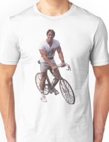 Arnold on a Bike Unisex T-Shirt