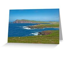 Ring of Kerry landscape Ireland Greeting Card