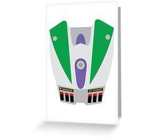 Buzz Lightyear Jetpack Greeting Card