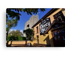 Bunratty Castle and Durty Nelly's Pub , County Clare, Ireland Canvas Print