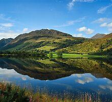 Lovely Scottish Scenic Landscape Reflection by upthebanner