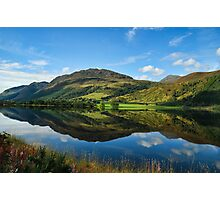 Lovely Scottish Scenic Landscape Reflection Photographic Print