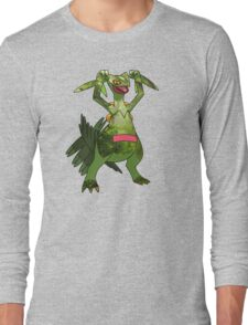 Sceptile at Home Long Sleeve T-Shirt