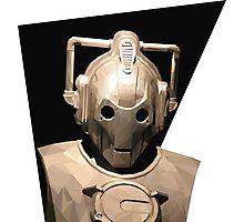 Cyberman Photographic Print