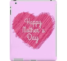 Happy Mother's Day heart iPad Case/Skin