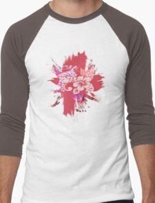 GARDEN PINK Men's Baseball ¾ T-Shirt