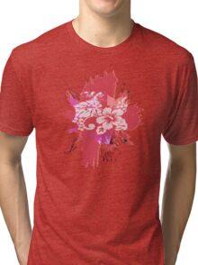 GARDEN PINK Tri-blend T-Shirt