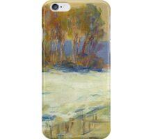 Claude Monet Seine Bennekurt winter (author's copy) iPhone Case/Skin