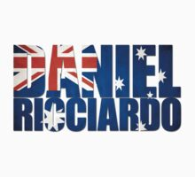 Daniel Ricciardo - Australia Flag - Formula 1 One Piece - Long Sleeve