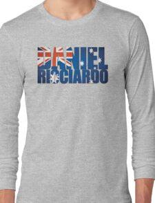 Daniel Ricciardo - Australia Flag - Formula 1 Long Sleeve T-Shirt