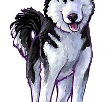Animal Parade Husky by Traci VanWagoner