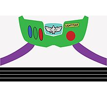 Buzz Lightyear Costume Front Photographic Print