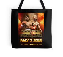Floyd Mayweather VS Manny Pacquiao May 2nd 2015 shirt, poster and more Tote Bag