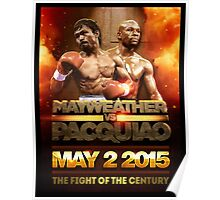 Floyd Mayweather VS Manny Pacquiao May 2nd 2015 shirt, poster and more Poster