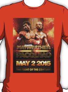 Floyd Mayweather VS Manny Pacquiao May 2nd 2015 shirt, poster and more T-Shirt
