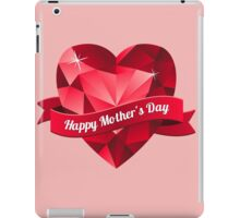 Happy Mother's Day heart pattern iPad Case/Skin
