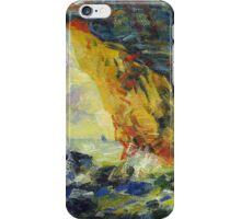 Claude Monet. Ckala in Mannporte (author's copy) iPhone Case/Skin