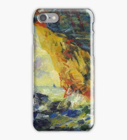 Claude Monet. Ckala in Mannporte (author's copy) iPhone Case/Skin