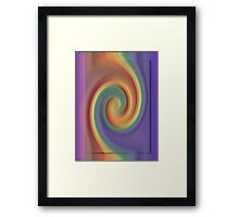 Play with colours Framed Print