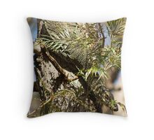 Wally's Goanna Throw Pillow