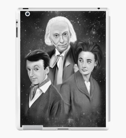 Classic Who iPad Case/Skin