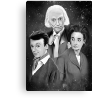 Classic Who Canvas Print