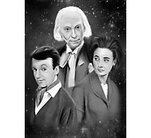 Classic Who Photographic Print