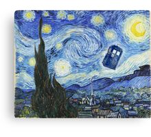 Vincent and The Doctor Canvas Print