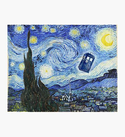 Vincent and The Doctor Photographic Print
