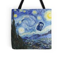 Vincent and The Doctor Tote Bag