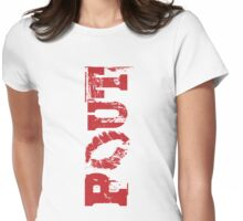 Pout Womens Fitted T-Shirt