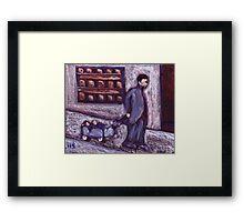 Primitive Pram  Framed Print