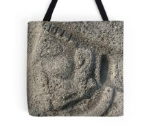 Face on the Temple of the Sun - Xochicalco, Morelos, Mexico Tote Bag