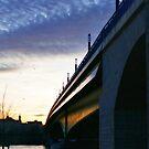 Twilight Bridge by Benedikt Amrhein