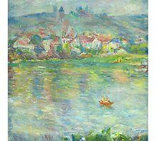 Claude Monet Vétheuil Town (author's copy) Photographic Print