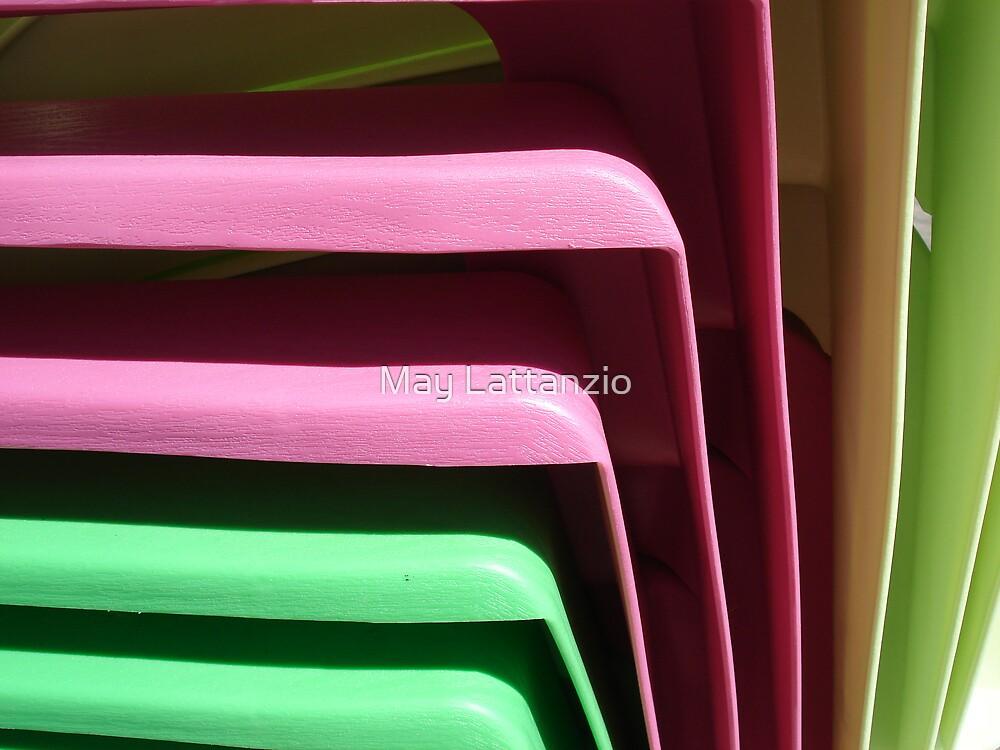 Adirondack Chairs by May Lattanzio