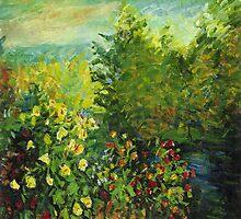 Claude Monet's Corner of the Garden (author's copy) by tensil
